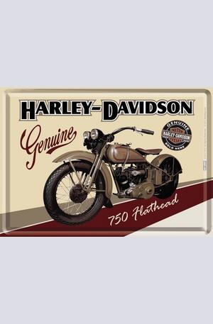 Книга - Метална картичка Harley-Davidson Genuine