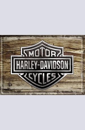 Продукт - Метална картичка Harley-Davidson
