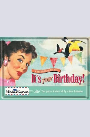 Продукт - Метална картичка Its Your Birthday