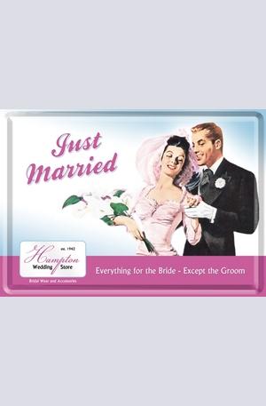 Продукт - Метална картичка Just Married