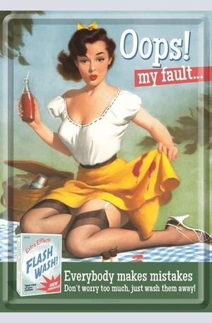 Продукт - Метална картичка Oops! My Fault...