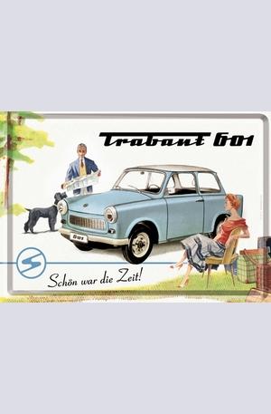 Продукт - Метална картичка Trabant 601
