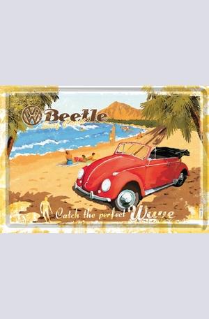 Продукт - Метална картичка VW Beetle Surf Coast