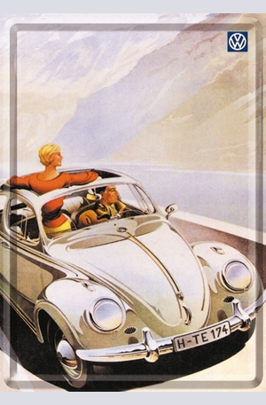 Продукт - Метална картичка VW Beetle