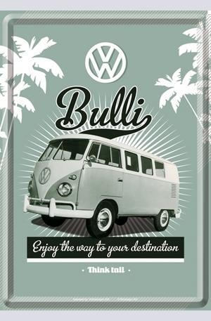 Продукт - Метална картичка VW Bulli