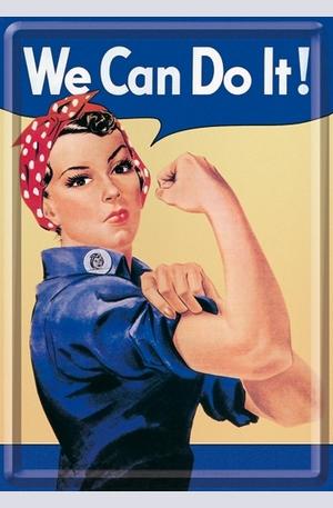Продукт - Метална картичка We Can Do It!