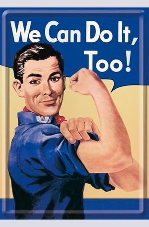 Продукт - Метална картичка We Can Do It Too