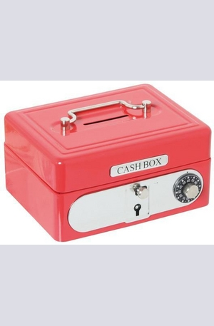 Продукт - Метална касичка с код и ключ - Cash Box