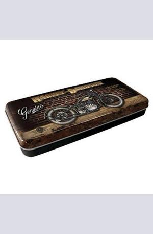 Продукт - Метална кутия за моливи Harley-Davidson Genuine