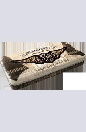 Книга - Метална кутия за моливи Harley-Davidson