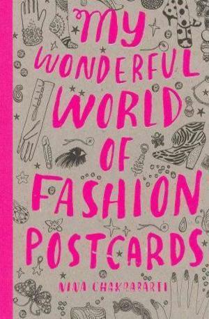 Книга - My Wonderful World of Fashion Postcard Book