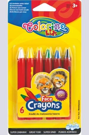 Продукт - Пастели за лице - 6 цвята