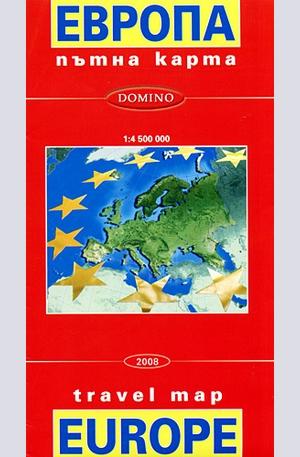 Ptna Karta Na Evropa Elektronni Knigi Knigi Biblio Bg