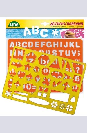 Продукт - Шаблони - азбука, числа, знаци