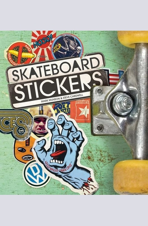 Книга - Skateboard Stickers
