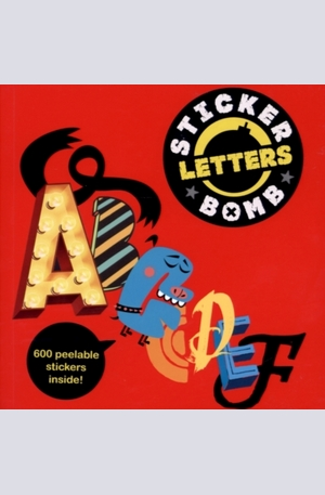 Книга - Stickerbomb Letters