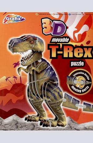 Продукт - T-Rex - 3D puzzle