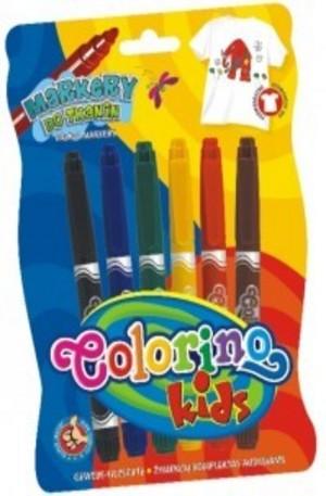 Продукт - Текстилни маркери - 6 цвята
