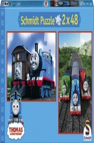 Продукт - Thomas & seine Freunde - Lokomotive sein ist toll! - 2 x 48