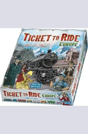 Продукт - Ticket To Ride Europe