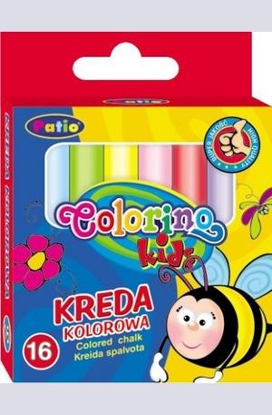 Продукт - Цветни тебешири - 16 броя