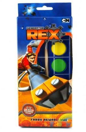 Продукт - Водни бои Generator Rex - 12 цвята