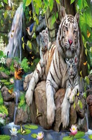 Продукт - White Tigers of Bengal - 1000