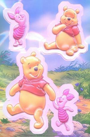 Продукт - Winnie the Pooh 3D Stickers