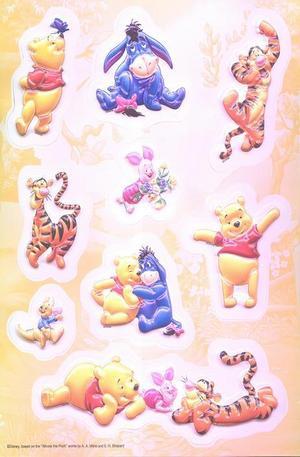 Продукт - Winnie the Pooh 3D Stickers - set of 9