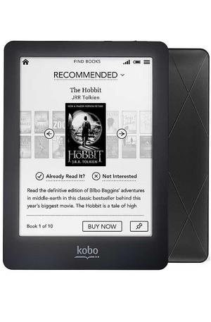 електронен четец - Kobo Glo черен
