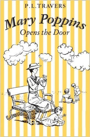 Книга - Mary Poppins Opens the Door