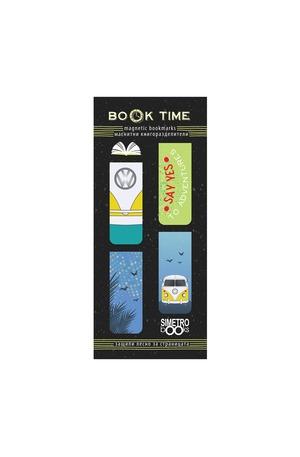 Продукт - Магнитни книгоразделители - Book Time - Adventure time