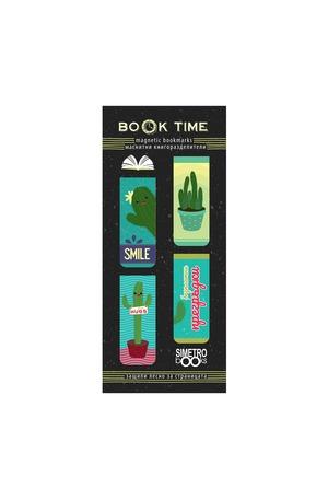 Продукт - Магнитни книгоразделители - Book Time - Кактуси
