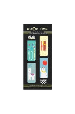Продукт - Магнитни книгоразделители - Book Time - Cute animals