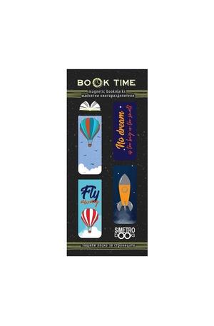 Продукт - Магнитни книгоразделители - Book Time - Dream big