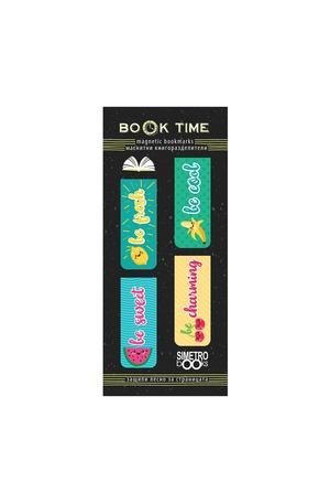 Продукт - Магнитни книгоразделители - Book Time - Плодчета
