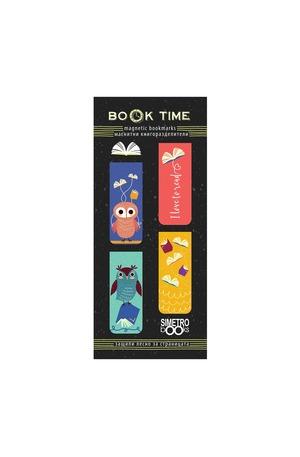 Продукт - Магнитни книгоразделители - Book Time - Бухали