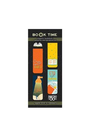 Продукт - Магнитни книгоразделители - Book Time - Readers life