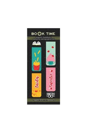 Продукт - Магнитни книгоразделители - Book Time - Sweet and tasty