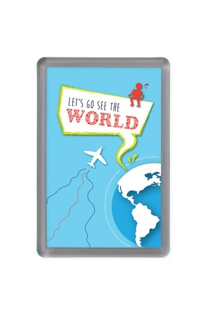 Продукт - Магнит Let's go see the world