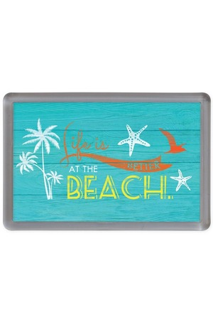 Продукт - Магнит Life is better at the beach