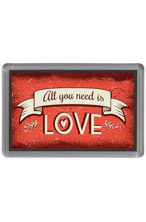 Продукт - Магнит All you need is love