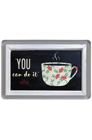 Продукт - Магнит You can do it, coffee