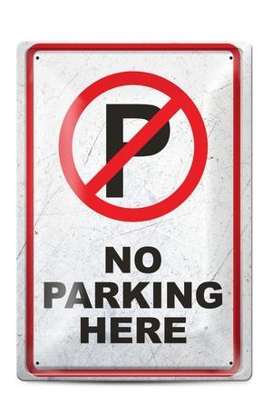 Продукт - Метална табелка - A4 - No parking
