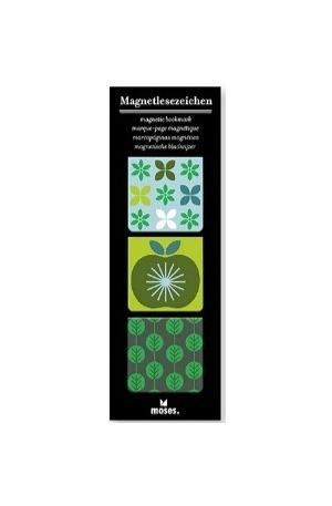 Продукт - Магнитен книгоразделител квадрат - Ябълка