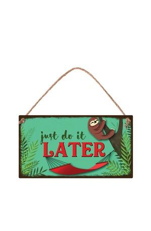 Продукт - Табелка - Just do it later
