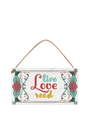 Продукт - Табелка - Live Love Read