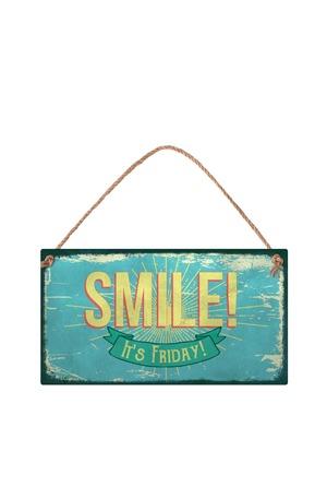 Продукт - Табелка - Smile! It's Friday!