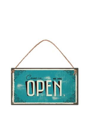 Продукт - Табелка - Come in. We're open.