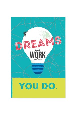 Продукт - Тефтер Dreams don't work unless you do